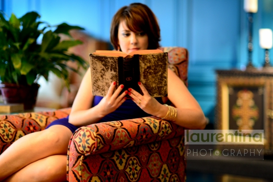 Avery Flynn, Book, Hotel Monaco, hotel lobby, portrait photography, Old Town Alexandria