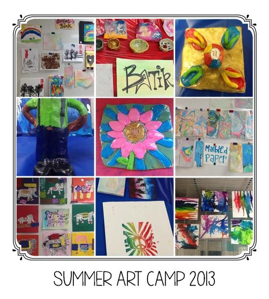 SummerArtCampFHS2013