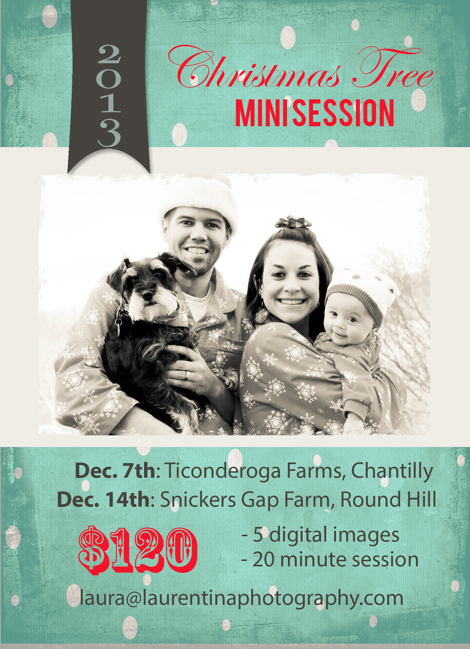 Christmas Tree Mini Sessions in Northern Virginia | December 2013 ...