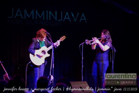 jennifer knapp, singer songwriter, acoustic, unplugged, margaret becker, live music, hymns of christmas, post CCM, jammin java, vienna va