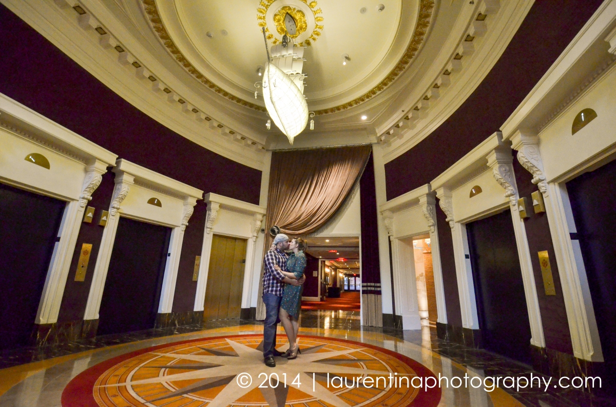 Kaity & Jonathan | Philadelphia Engagement Photography | { Part 2 } : Hotel Monaco Independence Hall
